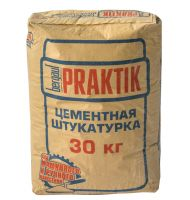 Штукатурка цементная Bergauf Prakrik