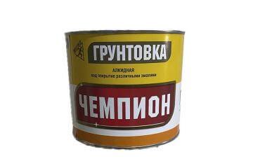 """Грунт ГФ-021 ГОСТ красно-коричневый """"Чемпион"""" 20 кг"""