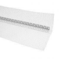 Угол из ПВХ сеткой 100х150 мм для фасадный работ