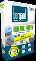 Клей для плитки влагостойкий Bergauf-Keramik