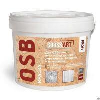 "Краска для OSB белая для вн/нар работ ""Gross art"" PROFI"