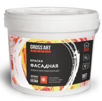 """Краска """"Gross'art"""" PROFI  Фасадная белая"""