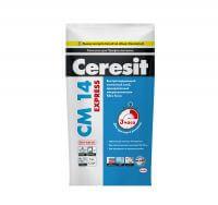 СМ 14 Церезит Клей Extra быстро твердеющий для плитки